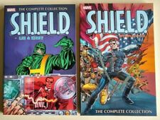 Shield Complete Collection TPB Set Lee, Kirby, Steranko NM