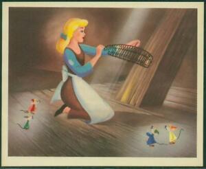 1950's Cinderella, Colgate-Palmolive Card No 1, Cinderella and Friends