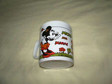 """  MUG DISNEY MICKEY MOUSE ET MINNIE 9 CM"