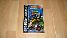Videojuego Sega Saturn completo Be PAL Manx TT Superbike