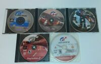 Lot Of 4 Gran Turismo 1 , 2 , 3 & 4 Sony PS1 And PS2 Video Games Discs Only