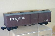 LGB KIT SCRATCH BUILT GAUGE 1 ET&WNC BOX CAR WAGON NICE mw