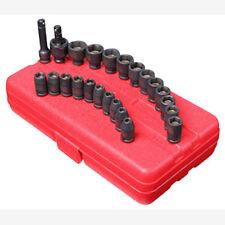 """Sunex 1818 1/4"""" Dr. 23 pzas. SAE & Métrico Master Magnético Juego de llaves vaso"""