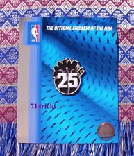Official NBA 1985 2010 Sacramento Kings 25th Anniversary small patch