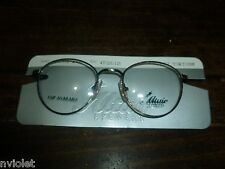 NEW ALTAIRE EYEWEAR KIDS EYEGLASSES FRAMES METAL PEWTER TORTOISE 47 20 125