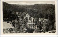 Bad Freienwalde Oder Postkarte DDR AK 1953 Blick ins Brunnental Wald Häuser