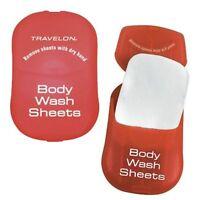 Travelon 02095 Body Wash Sheets, 4 per Order, FREE SHIPPING