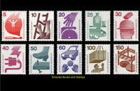 EBS Germany 1971 Accident Prevention (I) Michel 694A-703A MNH** cv $24