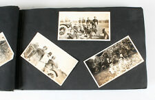 1920S AMERICANA FAMILY PHOTO ALBUM 300 PHOTOS W/ CARS, DOGS, PARADE, AND MORE
