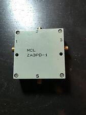 Mini-Circuits ZA3PD-1 500 to 1000 MHz, 10 Watt, 50Ω, SMA Power Splitter/Combiner