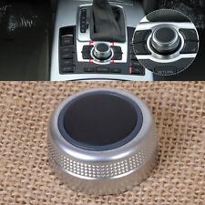 Multimedia MMI Main Menu Rotary Control Switch Knob Cap Cover for Audi A6 A8 S6