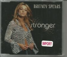 Britney Spears Stronger INSTRUMENTAL & UNRELEASE WALK ON TRK  CD single SEALED
