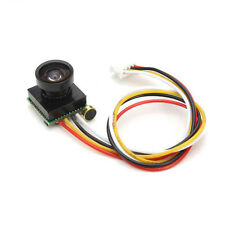 Mini FPV Camera PAL 700TVL 1/4 1.8mm Lens CMOS 170° Wide Angle CCD bLACK