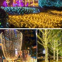 100 LED Fairy Lights 10M-100M String Lamp Wedding Party Tree New Year Favor
