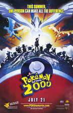 POKEMON THE MOVIE 2000: THE POWER OF ONE Movie Promo POSTER Kunihiko Yuyama
