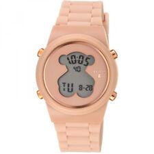 66bfbf9a8288 Reloj TOUS D-Bear de acero IP rosado con correa nude 700350315
