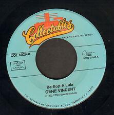 GENE VINCENT/EDDIE COCHRAN – Be-Bop-A Lula / C'mon Everybody (SINGLE  REISSUE)