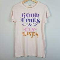 JUNK FOOD | Womens Good Times & Tan Lines Graphic Top [ Size M or AU 12 / US 8 ]