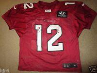 Arizona Cardinals #12 NFL Practice Game Worn Used Nike Jersey