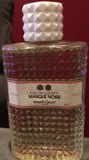 Roger & Gallet  MARQUE NOIRE 6.8 oz / 200 ml Eau De Cologne Splash, Vintage New