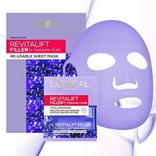 L'Oreal Revitalift Filler Hyaluronic Acid Re-Usable Sheet Face Mask 50ml Exclusi