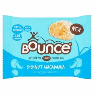 Bounce Filled Coconut & Macadamia 20x35g