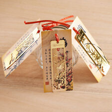 Chinese Style Unique Metal Flowers Bookmarks For Gift Present Souvenirs Gifts