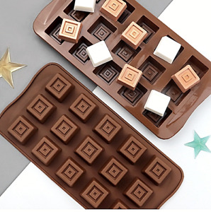 Silicone Chocolate cubes Mould Cookies candy Baking cake decorations
