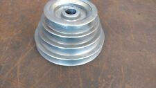 """Powermatic Model 95 24"""" Scroll Saw Gearbox Pulley 143 CDC 5/8"""" Bore 4 Step"""