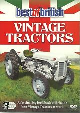 BEST OF BRITISH VINTAGE TRACTORS - 3 DVD BOX SET - AT WORK, INSIGHT & VINTAGE
