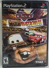 Cars: Mater-National Championship - Playstation 2 Game with manual