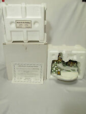 Goebel Music Box Home for the Holidays Limited Edition #1075-D 2002 Coa & Box