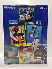 1991 FLEER Football card box Sealed contains 36pks
