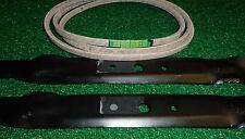 "John Deere 42"" Deck Kit GY21086 Belt & Blades D100 D110 D120 D130 L100 L110-L118"