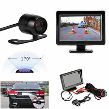 "4.3"" TFT LCD Car Rear Monitor View System Backup Reverse Camera Night Vision Kit"