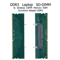 DDR3 Laptop SO DIMM to Desktop DIMM Adapter Memory  Adapter Card 240 To 204P