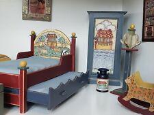 Dollhouse Miniature Concord Robin Betterley Noah's Ark Kid's Bedroom Set 1:12