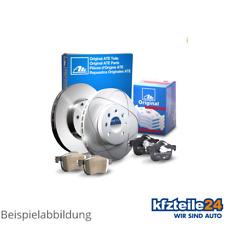 ATE | 2 Bremsscheiben Hinten Ø 282 Voll + Bremsbeläge Bremsen-Set