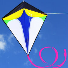 New 68cm Diamond Kite long tail triangle kite Outdoor Sports toys Delta for kids