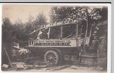 Buses; Vanguard Motor Accident, Handcross, July 12, 1906 PPC, Unposted