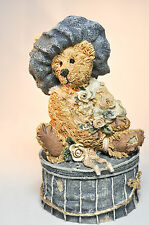 Boyds Bears: Victorian Bear - First Edition 1E/2441 - Style# 2004 - Trinket Box