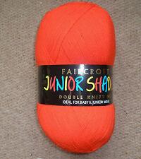 WOOLCRAFT faircroft double la laine à tricoter / Fils 1 x 500g ball 160 pilier Case Rouge