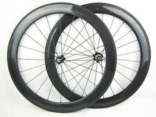 25mm width 60mm tubular wheelset road wheels 700C Novatec hub !! bicycle part