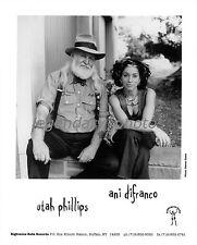 Utah Phillips Ani Difranco Righteous Babe Records Original Music Press Photo