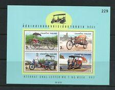 T869 Thailand 1997 transport tricycles rickshaws sheet Mnh