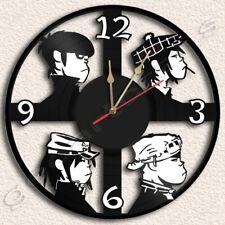 Gorillaz Vinyl Record Clock Upcycled Gift Idea