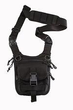 Shoulder bag for concealed gun carry black color