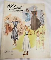 ORIGINAL Vintage Summer 1948 McCall's Pattern Book FRESH TO THE HOBBY!