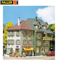 OVP NEU Spur H0 Faller 191757 2 Stadt-Reliefhäuser 3-stöckig