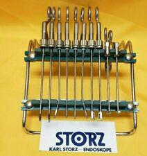 Karl Storz Arthoscope Arthroscopy Instruments Set Of 10 With Stand
